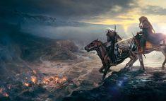 ArtStation - Gameinformer covers- The Witcher Wild Hunt, Bartlomiej Gawel