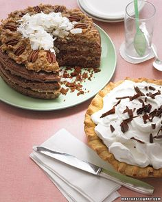 Recipe for Chocolate Cake with Coconut-Pecan Frosting - Yum!