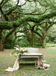 Venue: Greynolds Park, Photography: Denice Lachapelle, Design & Florals: Ever After Florals, Cake: Earth & Sugar, Calligraphy: Julia Rohde Designs
