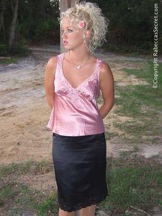 foto de 89 mejores imágenes de Glamour Vision Petticoats Satin