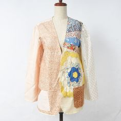 NO1 JAKETS/パッチワークジャケット| Susan Cianciolo|【MOCOSH】シャンプーからファッション、中古ブランドアイテムの通販