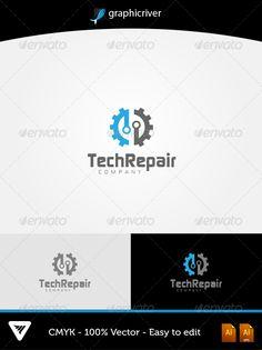 TechRepair Logo #GraphicRiver Item Details: •