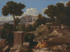 Landscape with Saint John on Patmos | The Art Institute of Chicago