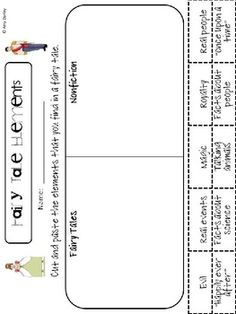 Fairy Tale Freebie - Amy Darley - TeachersPayTeachers.com