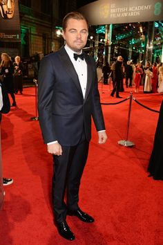 Leonardo DiCaprio Steps Out at the BAFTA Awards, Practically Sweeps You Off Your Feet