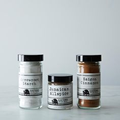 Apple Pie Spice Bundle (Arrowroot, Jamaican Allspice, Saigon Cinnamon) on Provisions by Food52