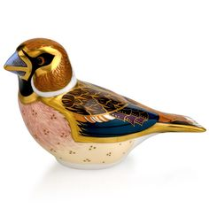 Royal Crown Derby Hawfinch Paperweight