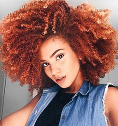 100 Natural Hairstyles for Black Women on Kinky Curly Relaxed Extensions Board Pelo Natural, Natural Hair Tips, Natural Hair Styles, Love Hair, Big Hair, Coily Hair, Afro Hair, Natural Hair Inspiration, Ginger Hair