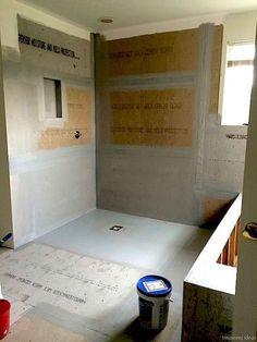 70 Plain Curbless Shower Ideas for Your House - Page 12 of 73 Shower Floor, Walk In Shower, Shower Base, Diy Shower Pan, Shower Drain, Shower Remodel, Bath Remodel, Restroom Remodel, Ada Bathroom