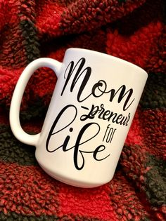 Mompreneur for Life Mug Mug for Mom Entrepreneurs Ceramic Coffee Cups, Mom Humor, Best Coffee, Marketing And Advertising, Morning Coffee, Gifts For Mom, Entrepreneur, How To Make Money