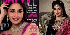 Madhuri Dixit covers Savvy March 2014 issue Bollywood Photos, Madhuri Dixit, Parenting Teens, March 2014, Comebacks, Day, Cover, Life, Blankets