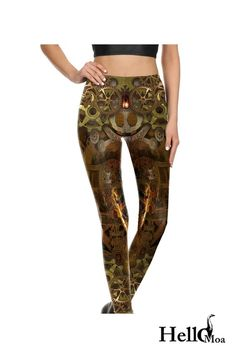 Designed with premium high quality material, Light-weight, flexible and move with you every step. Steampunk Leggings, Horses, Unique, Pants, Collection, Fashion, Trouser Pants, Moda, Fashion Styles