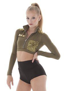 Major. Military dance costume. Army Halloween Costume top.