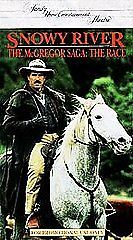 SNOWY RIVER: THE MACGREGOR SAGA - THE RACE (VHS, 1994) v3