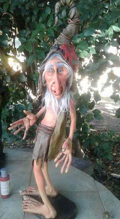 Bravissimo Diy Ooak Doll, Ooak Dolls, Elves And Fairies, Clay Fairies, Sculpture Clay, Sculptures, Halloween Fairy, Baby Fairy, Polymer Clay Dolls