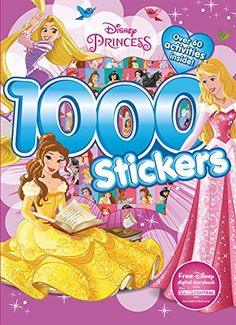 Disney Princess Carry Along//3D Sticker//Pad//Activity Pmat//Sequin Peel /& Stick