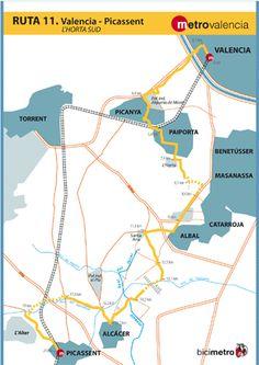 Metrovalencia - Bicimetro - L´Horta Sud