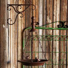 Rust-finish Hanging Bird Feeder | Shop P. Allen