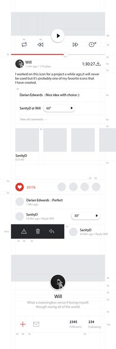 Dribbble - ui_-standardlist-feeds.jpg by zZz