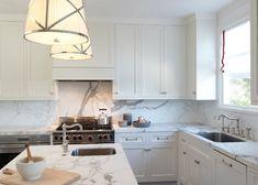 Kitchen Countertop Backsplash. Kitchen Marble Countertop Backsplash.  Kitchen Marble Countertop Backsplash Slab. #KitchenMarbleCountertopBacksplash Lauren Ranes Interior Design.