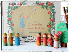 Delightful!  many many pictures of peg people in the storybook :-)