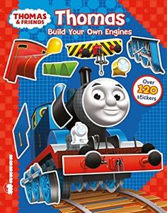 Thomas. Build Your Engines. Sticker Book (Thomas & Friends)