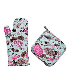 Love this Asiana Oven Mitt & Pot Holder on #zulily! #zulilyfinds