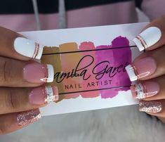 Cheetah Nail Art, Short Nails, Nail Artist, Manicure, Bangles, Jewelry, Designed Nails, Work Nails, Frases