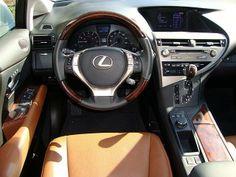 Lexus Rx 350 With Saddle Tan Leather Interior And Starfire Pearl Exterior Lexus Rx 350 New Lexus Lexus