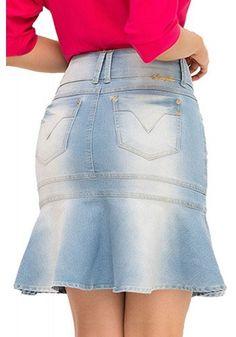 Sexy Skirt, Dress Skirt, Short Skirts, Mini Skirts, Denim Fashion, Fashion Outfits, Denim Outfit, Pretty Dresses, Business Women