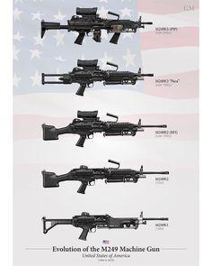 Military Weapons, Weapons Guns, Guns And Ammo, Tactical Solutions, Light Machine Gun, Cool Guns, Assault Rifle, American Soldiers, Firearms