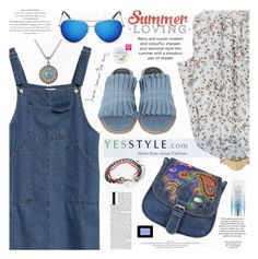 """""""Hello Summer"""" by katjuncica ❤ liked on Polyvore featuring Goroke, modern, Summer, tops, summerstyle and yesstyle"""