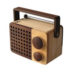 Magno Wooden Radio Mini, 99€, now featured on Fab.