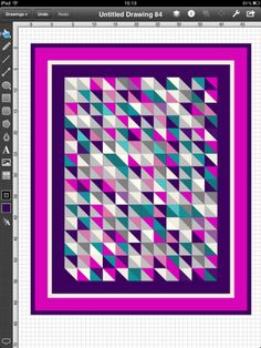 Lilys Quilts: Touchdraw tutorial no. 2 - HSTs