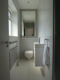 Small bathrooms - modern - bathroom - london - by Slightly Quirky Ltd Diy Dorm Decor, Diy Room Decor For Teens, Diy Bathroom Decor, Bathroom Ideas, Cloakroom Ideas, Bathroom Inspiration, Small Kitchen Makeovers, Small Kitchen Layouts, Kitchen On A Budget