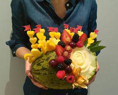 Centro de #frutas by Art de Fruit