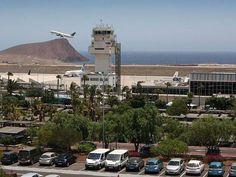 The Airport in Tenerife Spain