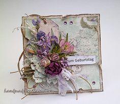 .: Urodzinowo with violet :)