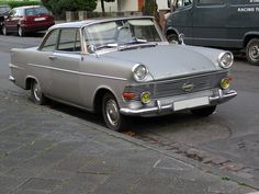 opel rekord - coupe
