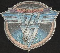Vintage 1979 Van Halen tour t-shirt.