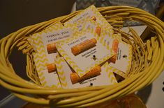 Mama to BEE baby shower favors..Burts bees Chapstick