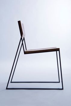 Chair is a minimalist design created by Poland-based designer Moskou. The studio is a creative studio providing services within many different design-related fields. Moskou aims at creating. Minimalist Furniture, Minimalist Home Decor, Minimalist Interior, Minimalist Design, Cool Furniture, Modern Furniture, Furniture Design, Antique Furniture, Rustic Furniture