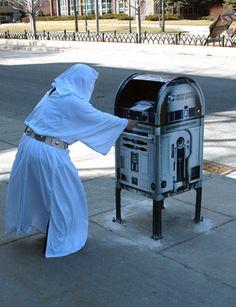Help me Obi wan Kenobi