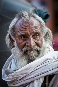 """Man of Jaipur"" by Brad Grove #India #Portrait"