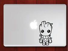"Baby Groot Apple Macbook Decal 13"" 15"" 17"" Vinyl Air Pro Sticker"
