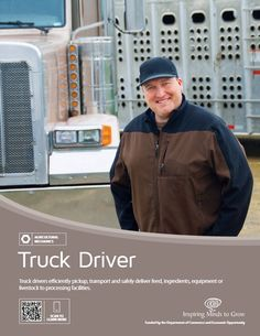 Truck Drivers, Trucks, Agriculture, Ffa, High Schools, Career, Middle,  Carrera, High School. Environmental Engineering Technology
