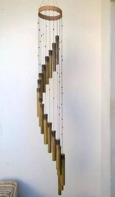 Decorate Your Home With Creative DIY Bamboo Crafts . Decorate Your Home With Creative DIY Bamboo Crafts . Decorate Your Home With Creative DIY Bamboo Crafts . Home and Family Bamboo Wind Chimes, Diy Wind Chimes, Bamboo Art, Bamboo Crafts, Bamboo Ideas, Bamboo Light, Bamboo Architecture, Bamboo Design, Bamboo Furniture