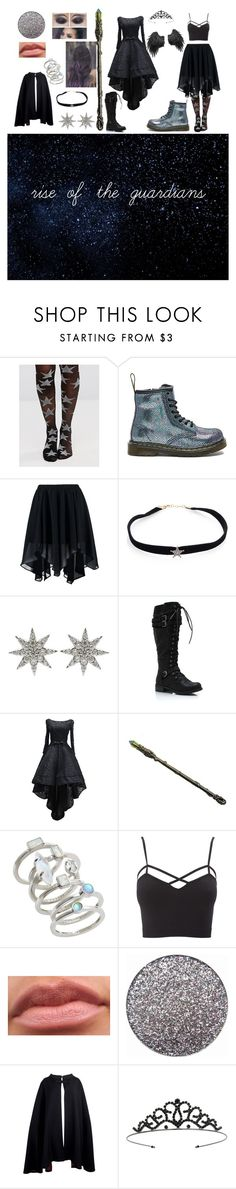 """rise of the guardians"" by icy-white on Polyvore featuring Gipsy, Dr. Martens, Boohoo, Kismet by Milka, Bee Goddess, Kendra Scott, Charlotte Russe, Pierre Cardin, Miss Selfridge and plus size clothing"