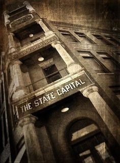 The offices of the State Capital newspaper in Guthrie, OK are said to be haunted.