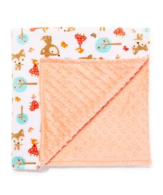Take a look at this Papaya Oh Deer Minky Stroller Blanket today!